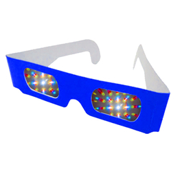 3D Paper Eclipse Glasses