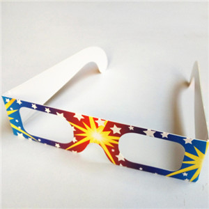 Promotional Gift Heart Diffraction Glasses