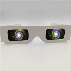 Logo Print Custom Diffraction Glasses