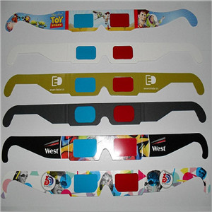 Factory Diffraction Cardboard Glasses