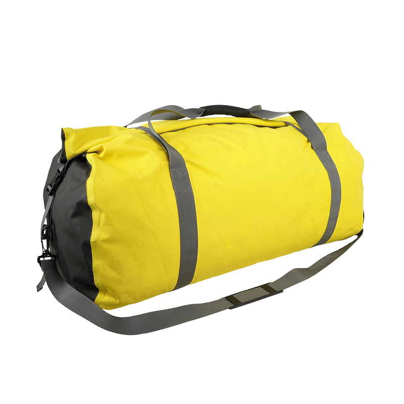 Outdoor Custom Logo Waterproof Sports Tarpaulin Travel Rolling Duffel Bags