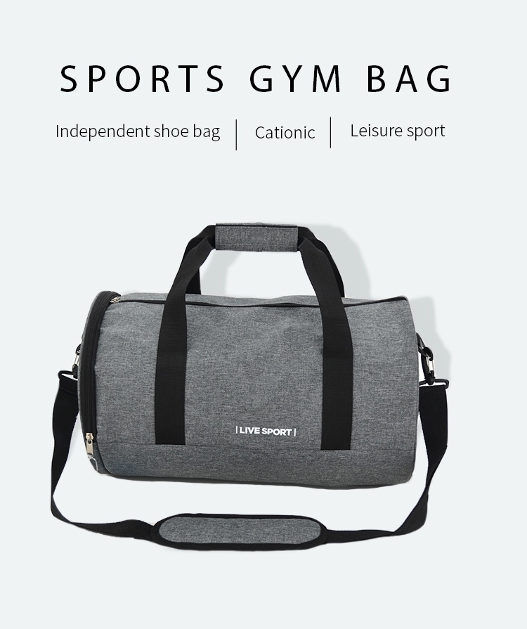 2019 new design custom printed travel sports duffel gym bag design your own bag