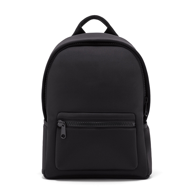 Korean style unique neoprene blank basic day backpack school bags